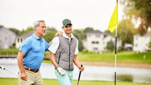 Golf-And-Business-Business-Talk